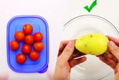Cách sơ chế nhanh các loại rau củ cho người ít thời gian