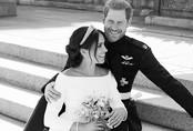 Ảnh cưới tuyệt đẹp mới được công bố của vợ chồng công nương Meghan Markle
