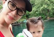 Trang Trần thú nhận vì mang thai hay cáu giận nên con gái lì lợm và cục tính