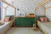 Phòng ngủ cho cặp đôi song sinh siêu dễ thương