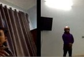 Xôn xao clip Bí thư huyện 'thăm' nữ cán bộ 'trúng gió' trong nhà nghỉ