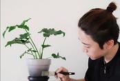 Căn hộ đẹp cuốn hút với màu trung tính cùng sắc xanh cây cỏ của chàng trai Việt ở Nhật