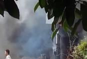 Nổ trạm điện ven Sài Gòn, hai người bị thương nặng