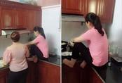 Em chồng đăng ảnh chế giễu chị dâu ngồi xổm trên bàn bếp, ai ngờ dân mạng bênh chằm chặp