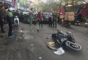 Hà Nội: Xế hộp đâm hàng loạt phương tiện, 1 người tử vong