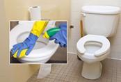 Khử mùi, tẩy uế nhà vệ sinh rượu và giấm