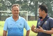 """""""Cầu thủ nhí 2019"""" được gặp huấn luyện viên từng chỉ dạy cho Quang Hải"""
