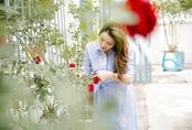 Hậu chia tay, Lý Nhã Kỳ tìm bình yên bên căn nhà đầy hoa hồng ở Đà Lạt