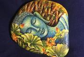 Hòn đá cuội hiện hình Phật: Vàng ròng của 9x Hải Phòng