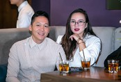 Ca sĩ Khánh Linh được chồng tháp tùng đi sự kiện