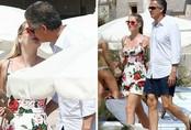 Cô cháu gái xinh đẹp của Công nương Diana hôn người tình tỷ phú trên phố