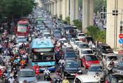 """Hà Nội: 4 tuyến đường """"gồng mình""""chịu áp lực giao thông cực lớn sắp có làn xe buýt riêng"""