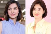 """Vừa cắt tóc, """"bà mẹ đẹp nhất Philippines"""" khiến dân tình ngỡ ngàng vì quá giống Song Hye Kyo"""