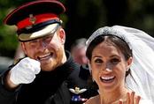 Đồ cưới Harry - Meghan biến khỏi bộ sưu tập hoàng gia