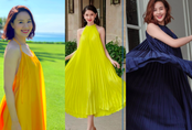 """Hồng Diễm vẫn nổi bật khi cùng diện chiếc đầm """"thần thánh"""" đọ sắc giữa dàn mỹ nhân showbiz Việt"""