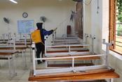 Bộ GD&ĐT: Không tổ chức lễ chào cờ khi học sinh đi học lại