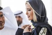 Hình ảnh Ivanka Trump ở Ả Rập Xê-út khiến ai cũng mê mẩn vì thần thái qua đẹp