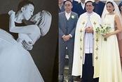 Ảnh cưới hiếm hoi của Tóc Tiên và Hoàng Touliver