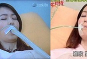 Phim Đài Loan cho bệnh nhân thở bằng ống to như vòi nước