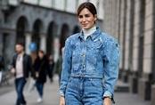 Phối đồ jeans như fashionista