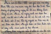 Nghẹn lòng khi đọc bức thư gửi mẹ của em học sinh lớp 5 ở Nghệ An