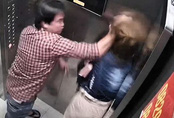'Cần xử lý nghiêm người đàn ông đánh phụ nữ tới tấp trong thang máy'