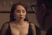 """Sinh tử tập 74: """"Gái ngành"""" Quỳnh Trinh bị người tình quan chức cảnh cáo vì biết quá nhiều chuyện"""