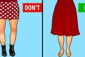 Cách chọn trang phục cho từng phom chân