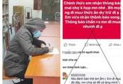 Hà Nội: Cô gái bị phạt 12,5 triệu đồng vì tung tin không họp chợ
