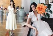 Mỹ nhân Vbiz mê váy áo trắng muốt, Khánh Vân dẫn đầu bảng nhờ chiêu chọn đầm thanh lịch
