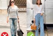"""Mắc 4 sai lầm này khi diện quần jeans, chị em tự đưa mình vào """"top mặc xấu chốn công sở"""""""