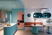 Thiết kế nội thất màu kẹo ngọt, hạn chế góc cạnh cho nhà có trẻ nhỏ của đôi vợ chồng Sài Gòn