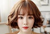 8 kiểu tóc xoăn ngắn dáng mặt nào cũng xinh