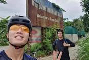 Xuân Trường đạp xe từ Hà Nội về Tuyên Quang