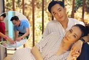 Đàm Thu Trang sinh con gái đầu lòng, Cường Đô la cùng con trai hạnh phúc khoe ảnh