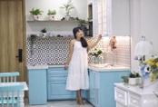 Căn hộ 71m² đẹp nhẹ nhàng, xinh yêu với màu xanh bạc hà có chi phí hoàn thiện 200 triệu đồng ở Sài Gòn