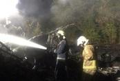 Máy bay quân sự Ukraine rơi, 22 người chết