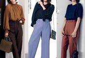 4 công thức diện đồ Thu hack dáng thon gọn, cao ráo mà nàng công sở Việt tuổi 30+ có thể học lỏm từ style của phụ nữ Nhật