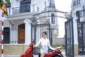 """Hương Giang """"nhá hàng"""" không gian mặt tiền căn biệt thự mới toanh siêu hoành tráng"""