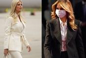 Vợ và ái nữ Tổng thống Trump xuất hiện với phong cách trái ngược nhưng vẫn hút hồn công chúng