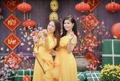 'Cánh thiệp đầu Xuân' của chị em Thu Hà - Linh Hoa