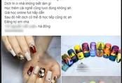 Tạm đóng tiệm nghỉ dịch, chủ salon nail lại cấp tập mở khóa học làm nail online, dạy vẽ móng trực tuyến giá chỉ 4 triệu đồng hút học viên