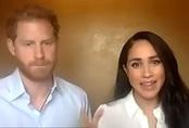 """Vợ chồng Meghan Markle - Harry công khai xuất hiện, """"động chạm"""" đến Nữ hoàng Anh với phát ngôn gây bức xúc"""