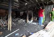 Hai mẹ con nghi bị giết trước khi tiệm cầm đồ cháy