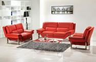 10 cách phối màu đỏ và trắng giúp phòng khách nổi bần bật mà không mất nhiều công sức