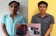 Bắt giữ 2 tên cướp táo tợn giật túi du khách ở biển Sầm Sơn