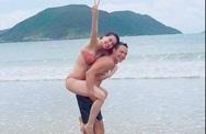 Hồ Ngọc Hà đưa Subeo đi chơi biển cùng Kim Lý?