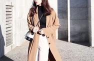 Áo khoác dài và quần ống rộng, combo mặc kiểu gì cũng đẹp cho mùa đông năm nay