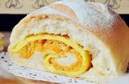 Ngày nghỉ làm bánh mì chà bông trứng chiên mời cả nhà ăn sáng
