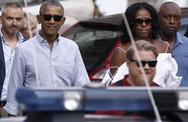 Kỳ nghỉ xa hoa của nhà Obama tại Italy